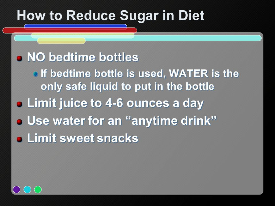 How to Reduce Sugar in Diet