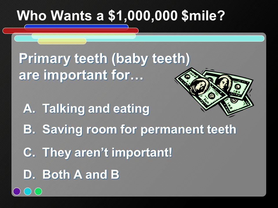 Primary teeth (baby teeth) are important for…