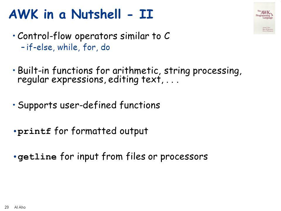 awk programming language pdf download