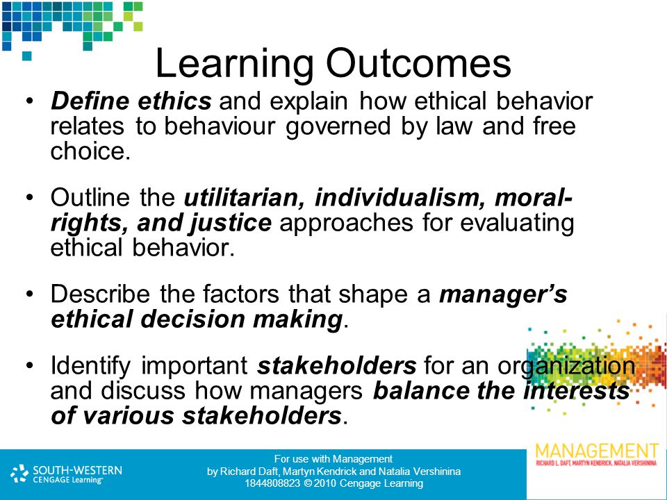 ethics and social responsibility explain role ethics and s A timeline of ethical and socially responsible concerns 2-6 business ethics &  social responsibility social responsibility– business's obligation to maximize its  positive impact and minimize its  the role of ethics in business  formalized  rules and standards that describe what a company expects of its employees.