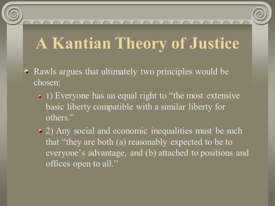 theory of justice summary
