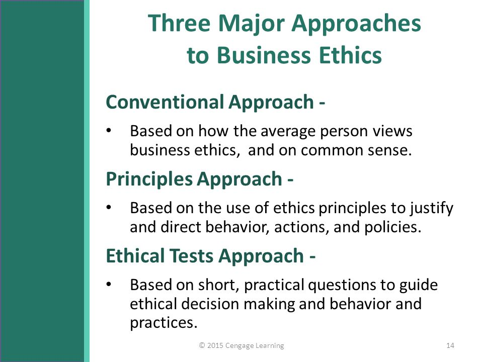a comparison of the three ethical views Research suggests a helpful, three-part framework for discussing issues of right  and wrong.