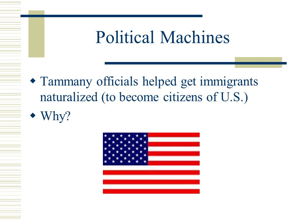 why was the term political machine used to describe corrupt political systems in the late 1800s