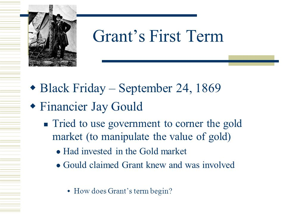 an overview of the black friday scandal of 1869 and the credit mobilier scandal of 1872 About the financial pirating of the credit mobilier black friday' scandal of 1869 was not the first black friday scandal of 1869: history & explanation.
