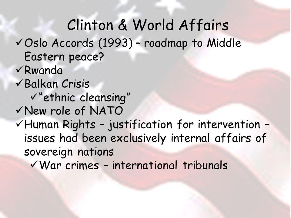 Clinton & World Affairs