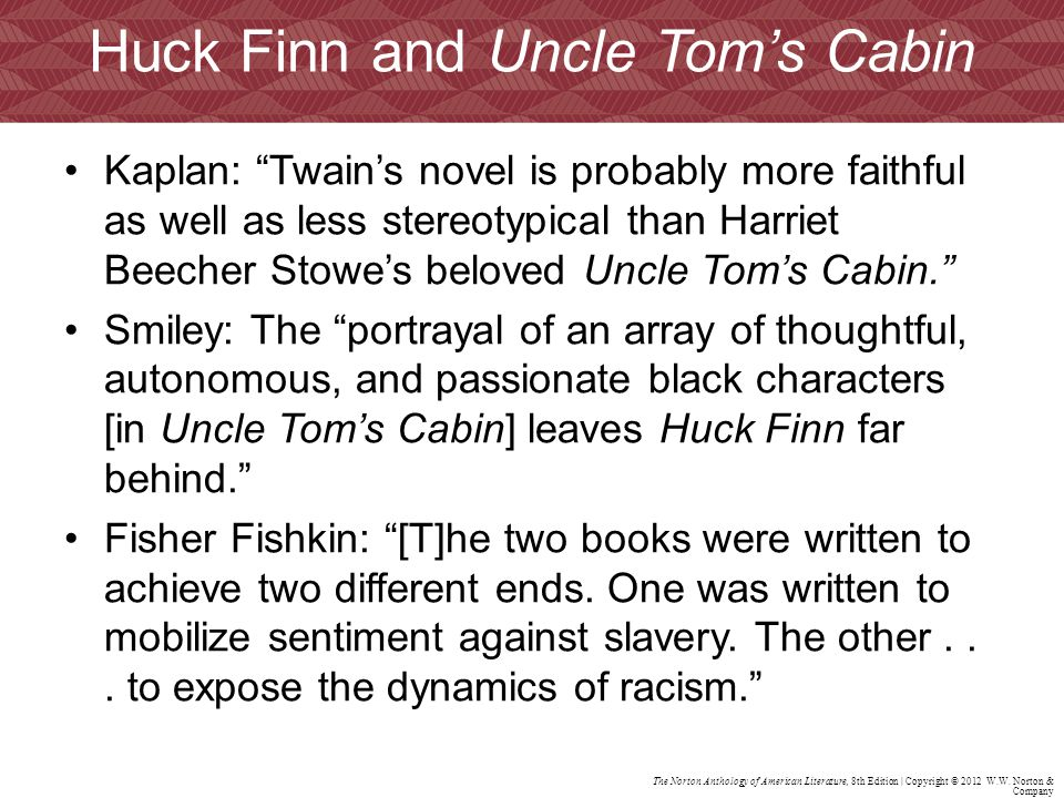 racism and huckleberry finn