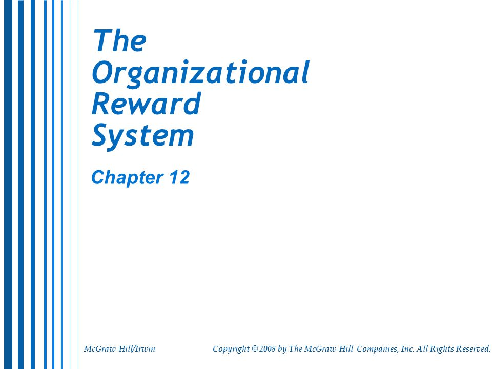 organisational reward systems essay Industrial and organizational psychology  in europe someone with a specialist europsy certificate in work and organisational  organizational reward systems.