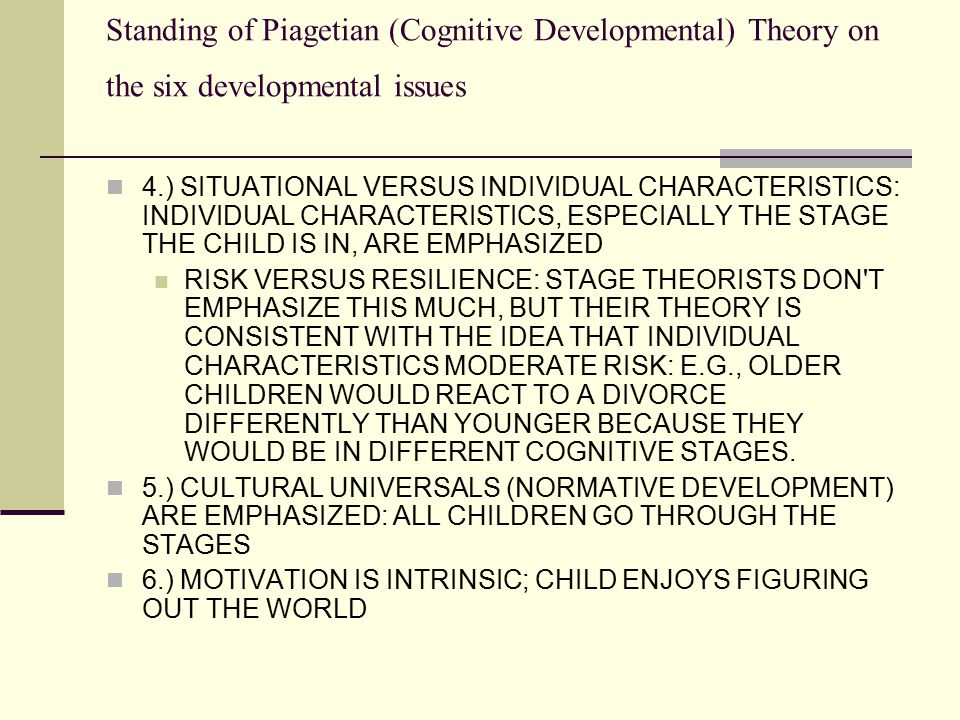 childrens play theories and contemporary issues Dr david whitebread  42 views of european play organisations on issues related to children's play  environmental 'stressors' of contemporary life,.