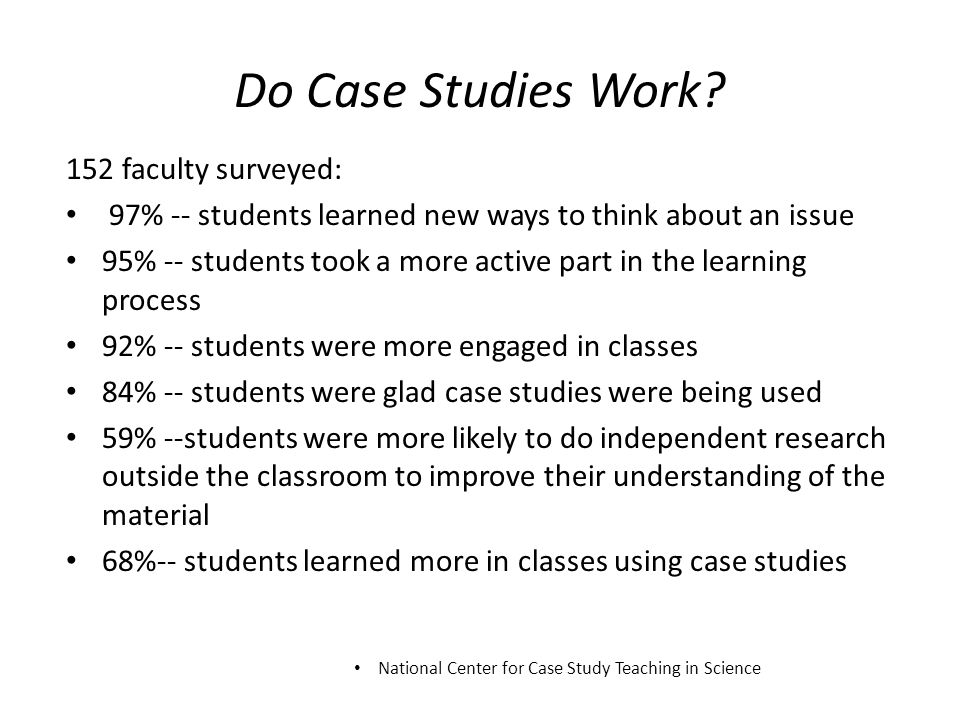 "national case study teaching in science ""making it fit"" by leaf and murphy page 2 national center for case study teaching in science generally fi tted curved lines to these types of data, and he was."