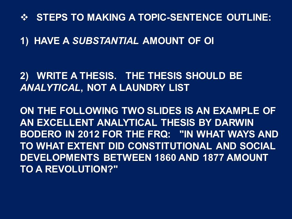 steps in making a thesis statement Pace university writing center created by rose buscemi how to write a thesis statement in 3 easy steps a thesis statement is one or two sentences found at the end of.