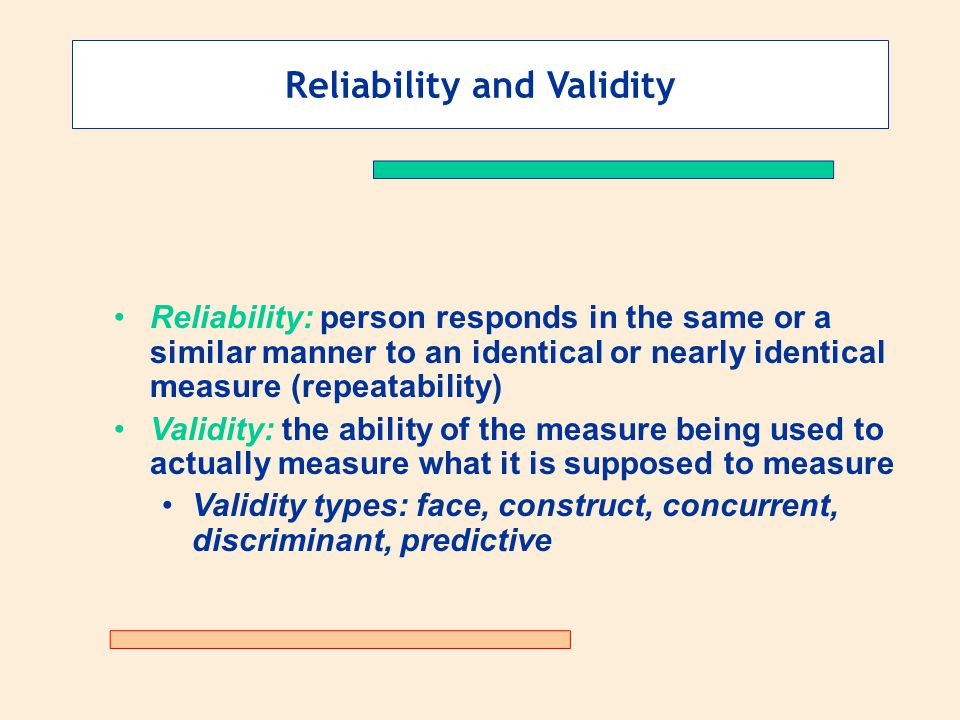 validity and reliability in research methodology pdf