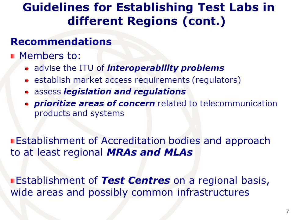 standards for relationship testing laboratories