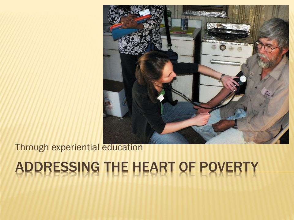 Addressing the heart of poverty