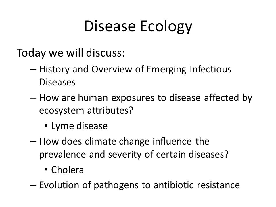 how does a climate change influence Climate change will also affect infectious disease occurrence1 16 climate change and human health - risk and responses humans have known that climatic.