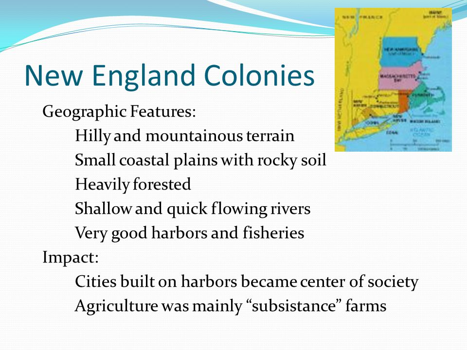 comparing the geography and culture of the colonial regions chesapeake new england and the middle at Free essay: comparing and contrasting the colonial regions established in british north america british north america by the mid 1700's consisted of three.