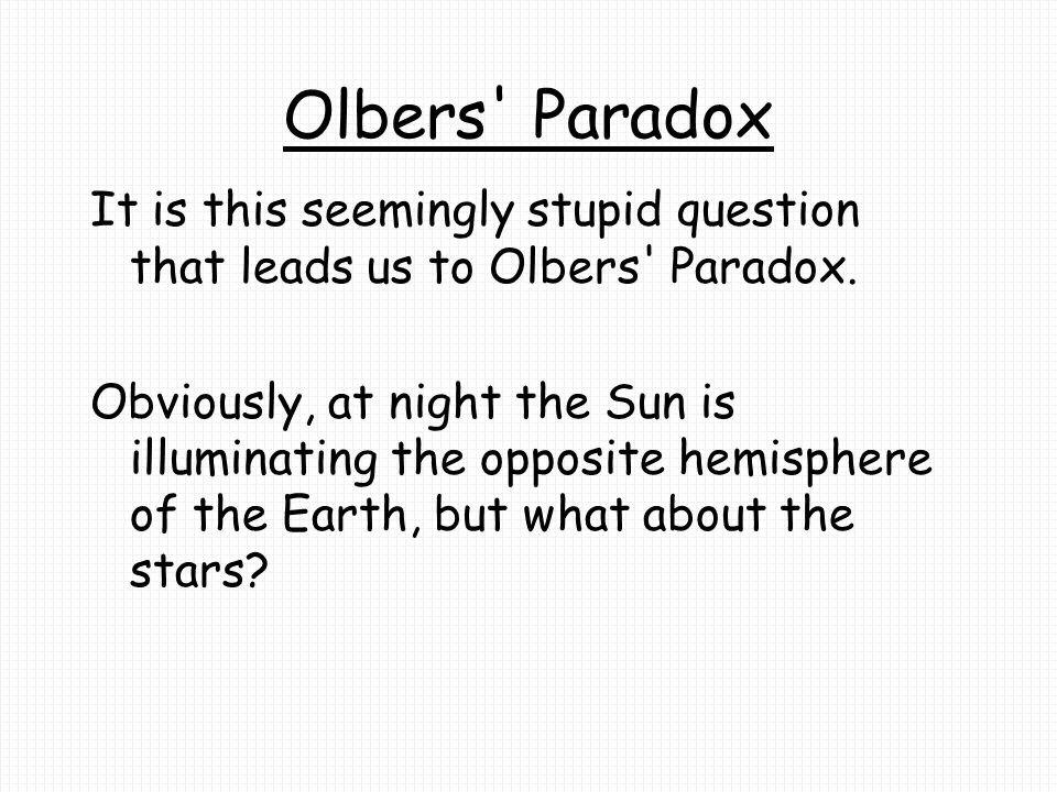 Paradox and antithesis questions