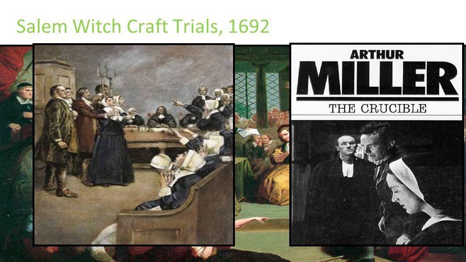 the salem witch craft trials essay
