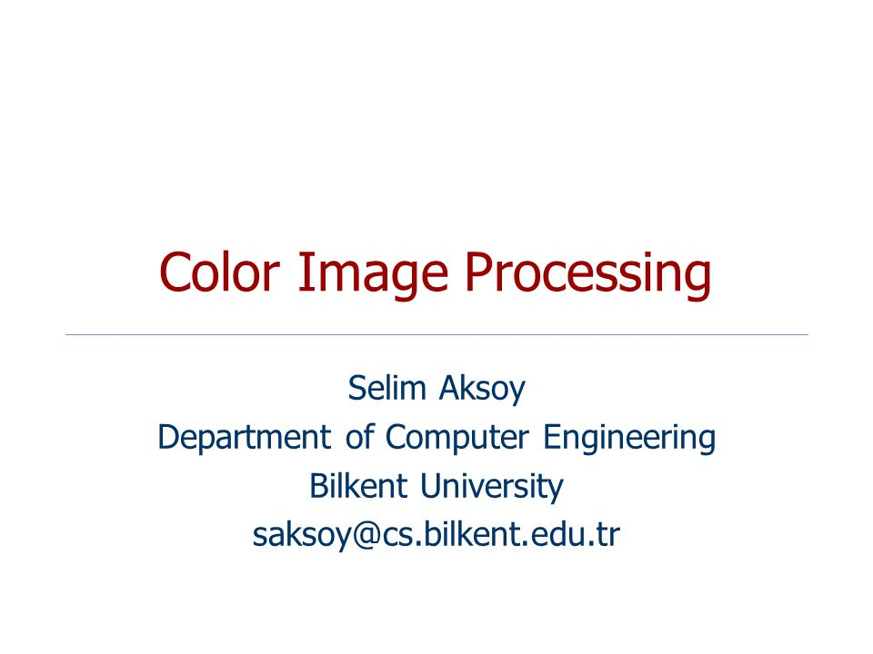 color image processing The magick package: advanced image-processing in r.