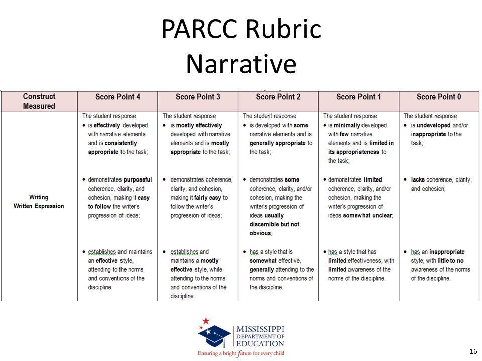 Rubric assessment narrative essay