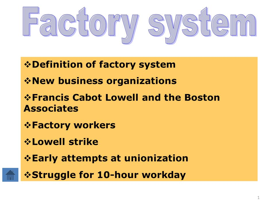 an overview of the factory workers in lowell factory Mary paul was one of thousands of lowell mill girls  she began her working  life as a domestic in bridgewater, vermont, but in 1845 decided to try her luck in  lowell  i think that the factory is the best place for me and if any girl wants.
