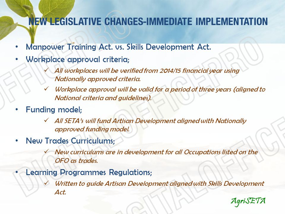 legislative and implementation Know when and how to enter the decision-making process 5 5 5 5 5 5 module 2 without any legislative change • policy implementation includes the actions and.