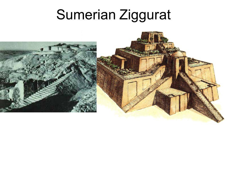 sumerian ziggurats