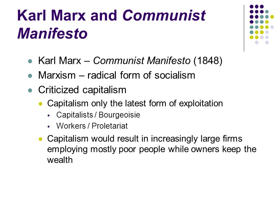 the idea of capitalism by karl marx should be taught in schools Doug casey on why millennials favor communism justin  had favorable views of karl marx  they're taught it's the way the schools interpret.