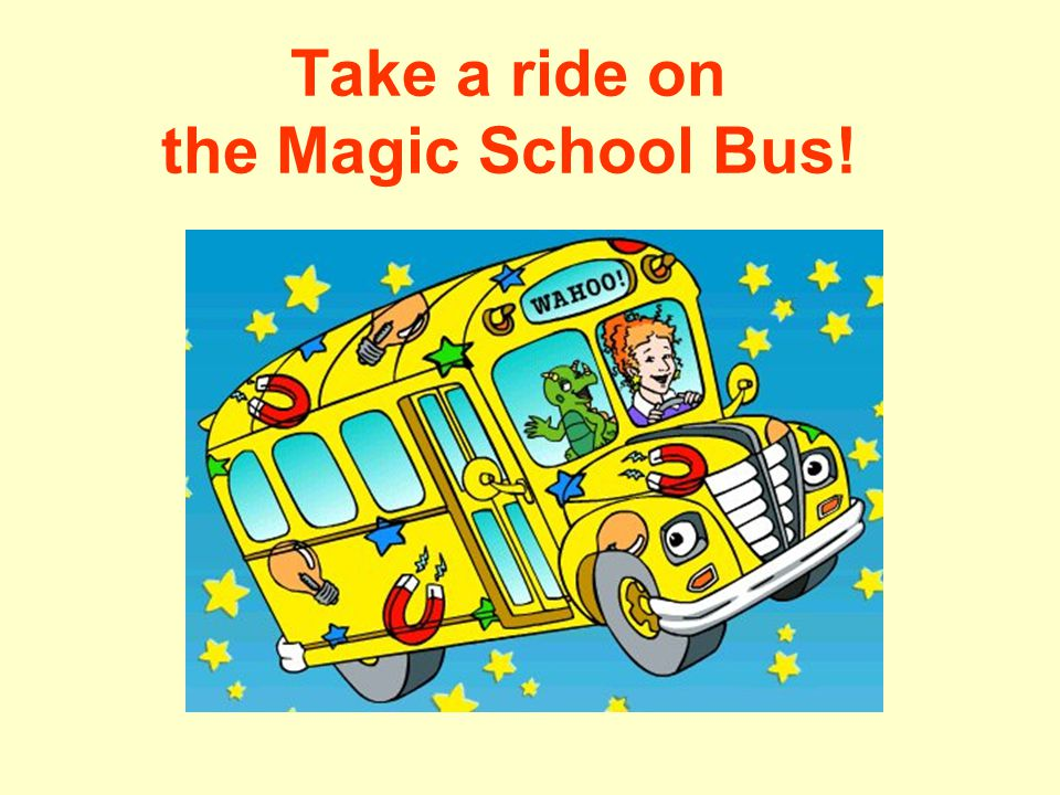 Take a ride on the Magic School Bus!