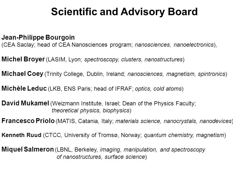 Scientific and Advisory Board