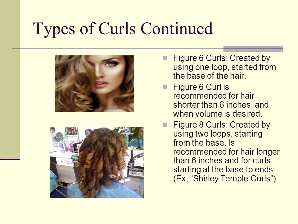 different kind of curles