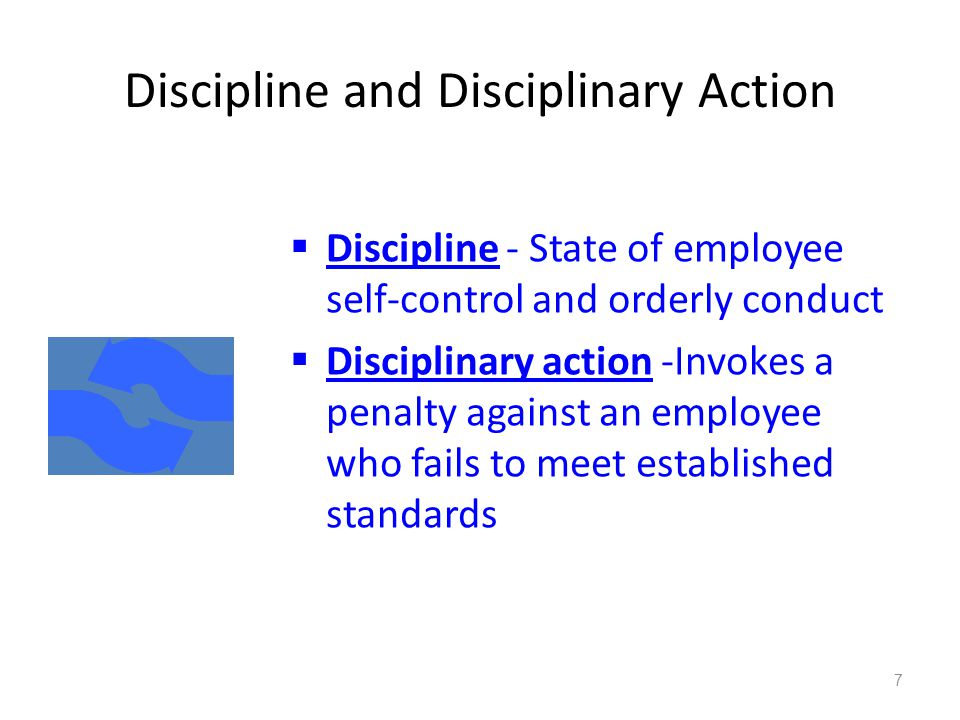 how to take disciplinary action against an employee