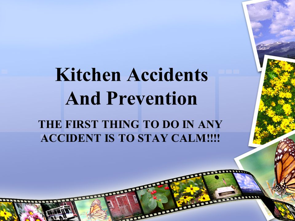 Kitchen Accidents And Prevention