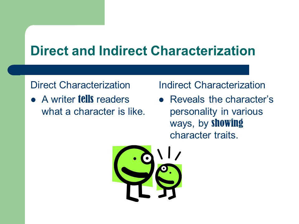 direct and indirect relationship definition