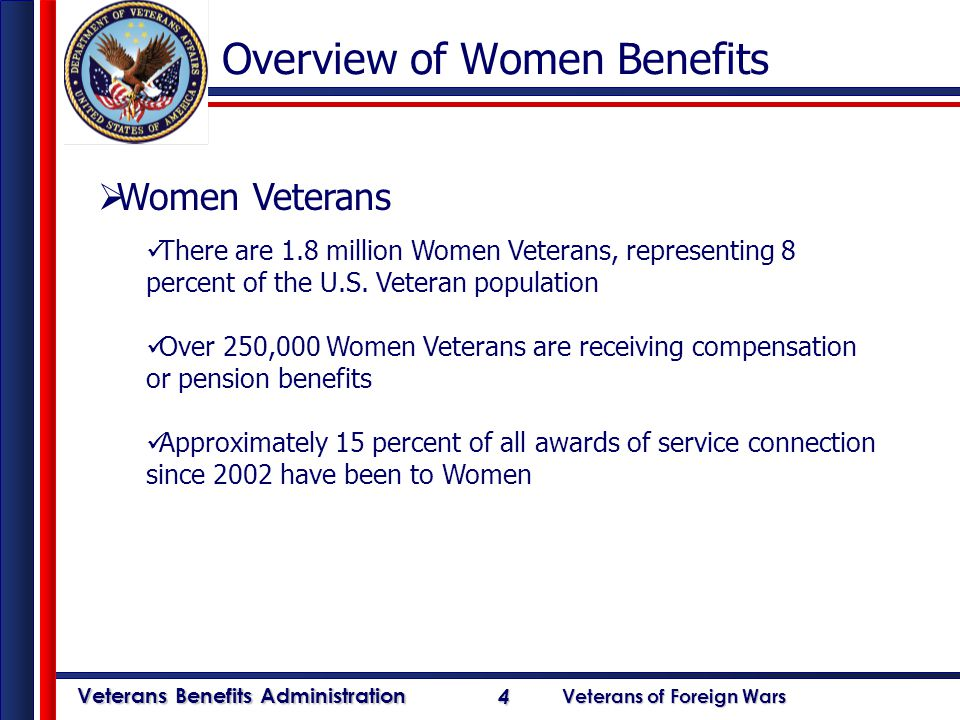 a overview of veterans Health care benefits overview 2012 building on over 50 years of providing quality health care services to our nation's veterans.