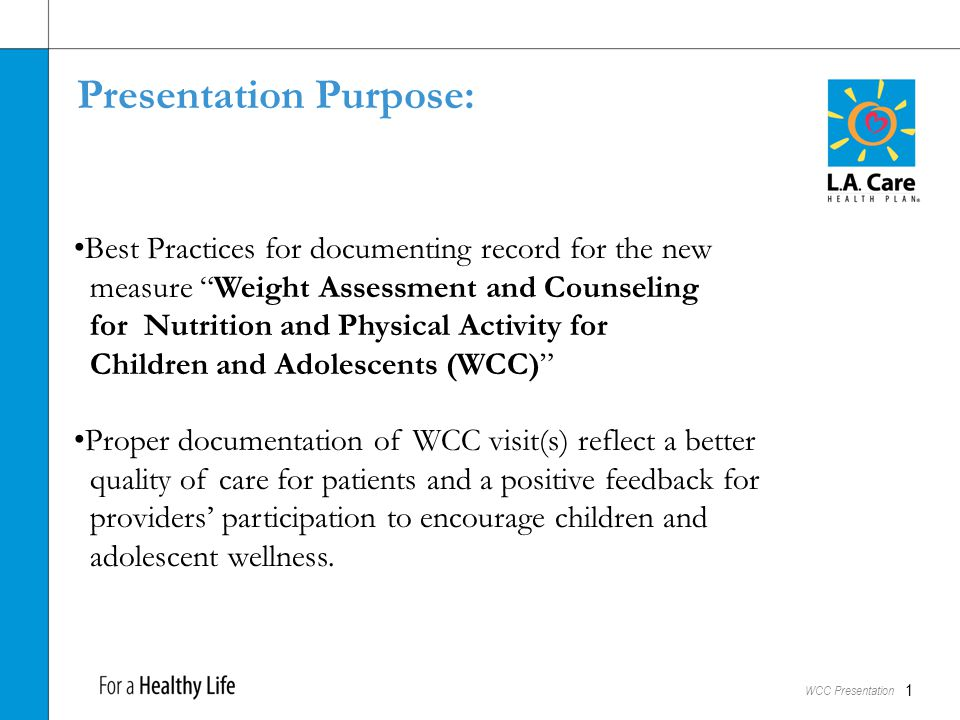WCC - Background: Obesity In Children and Teens