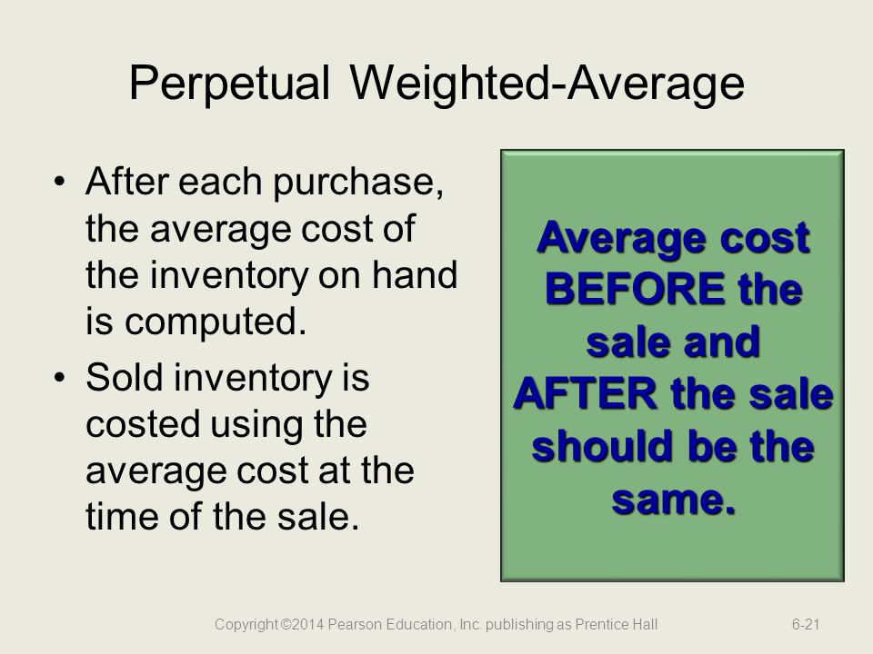Perpetual Weighted-Average