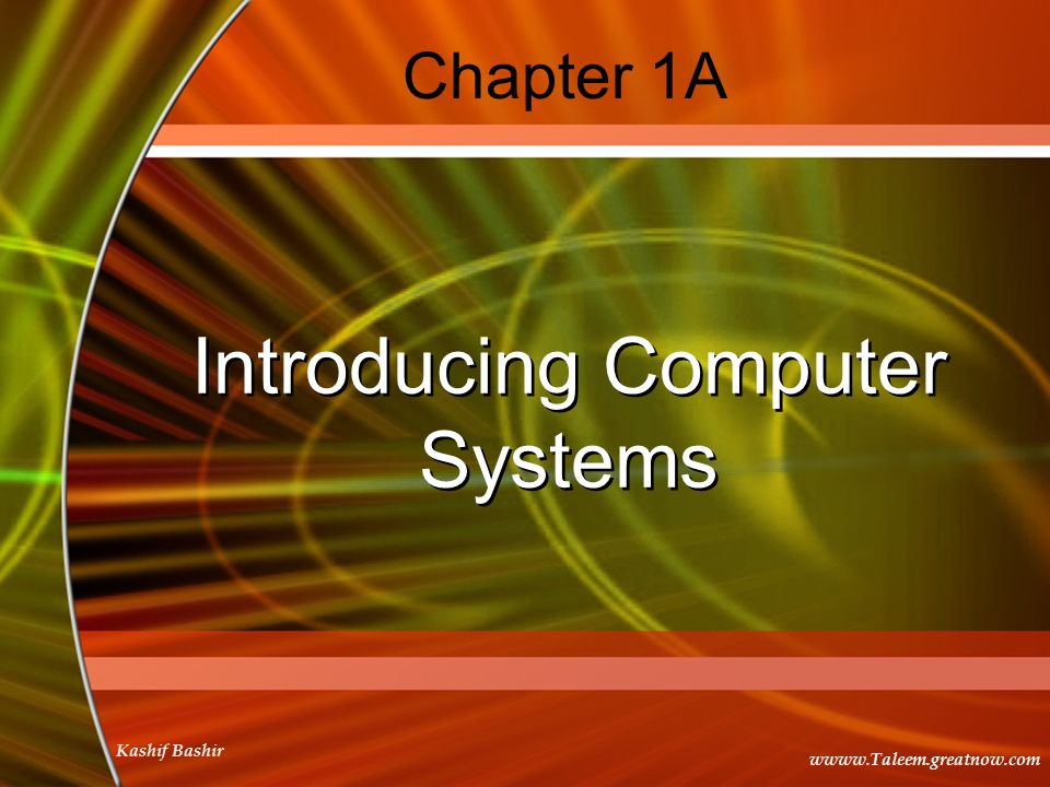 computer systems concepts chapter 8 Operating system concepts, 9ed, isv  chapter 13 i/o systems   157 firewalling to protect systems and networks  158 computer-security classifications .