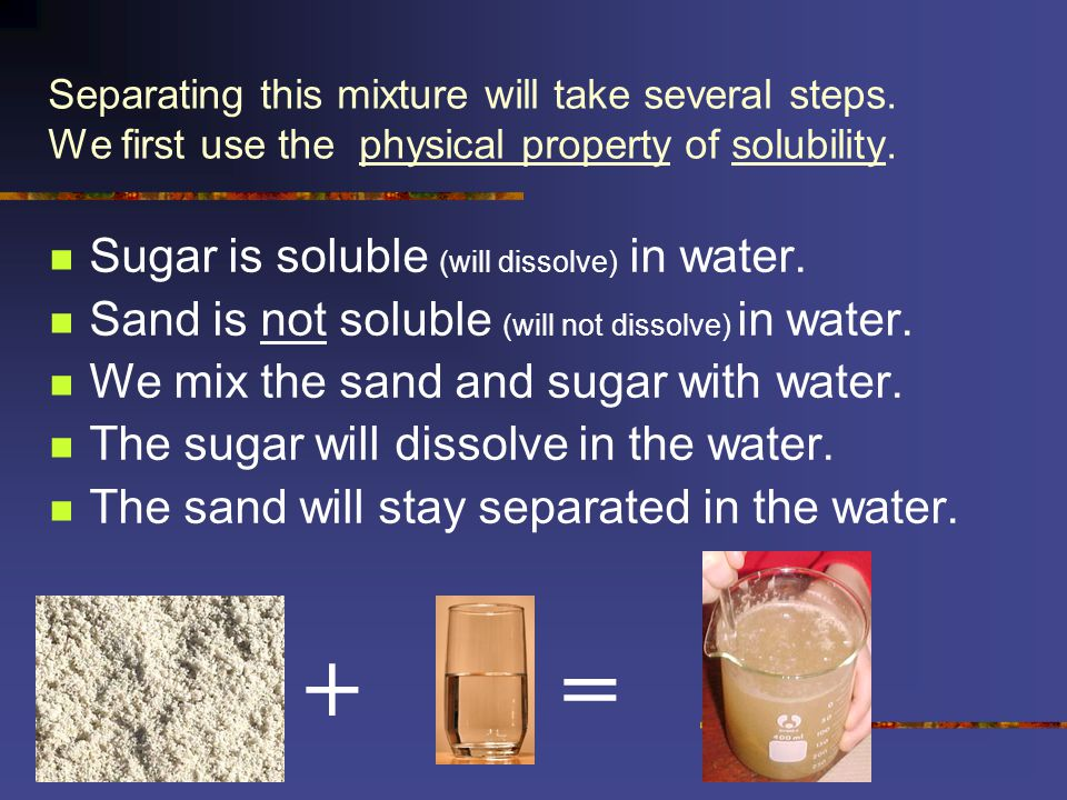 Why Does Water Dissolve Sugar?