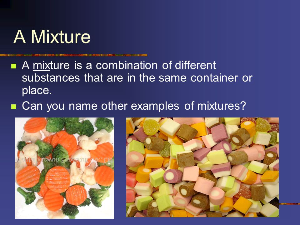 mixture examples