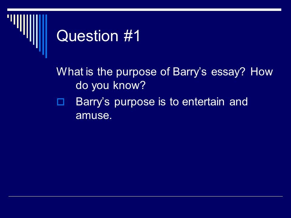 purpose of a definition essay