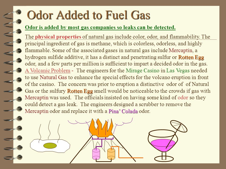 How To Detect Natural Gas Odor