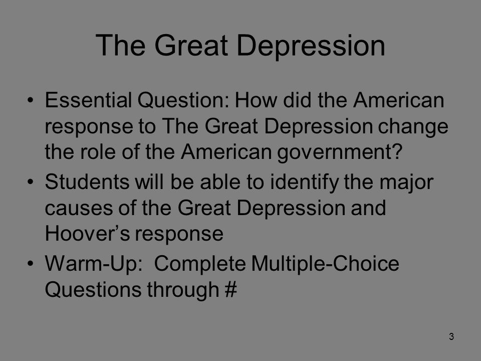 how great a role did the Role of media during the great depression although the great depression was a time of hardship, americans sought ways to be content with their lives by distracting .