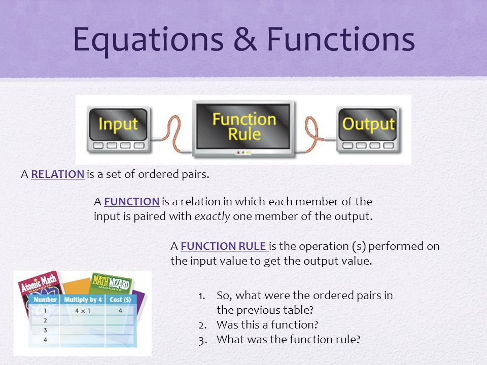 how to find ordered pairs of a function