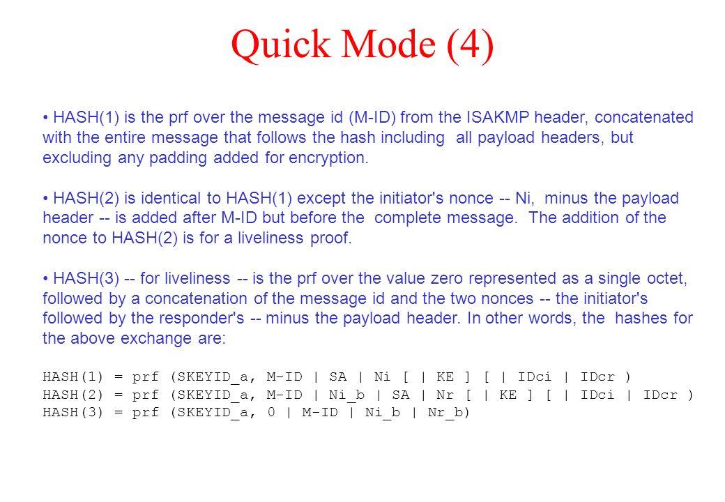 Quick Mode (4)