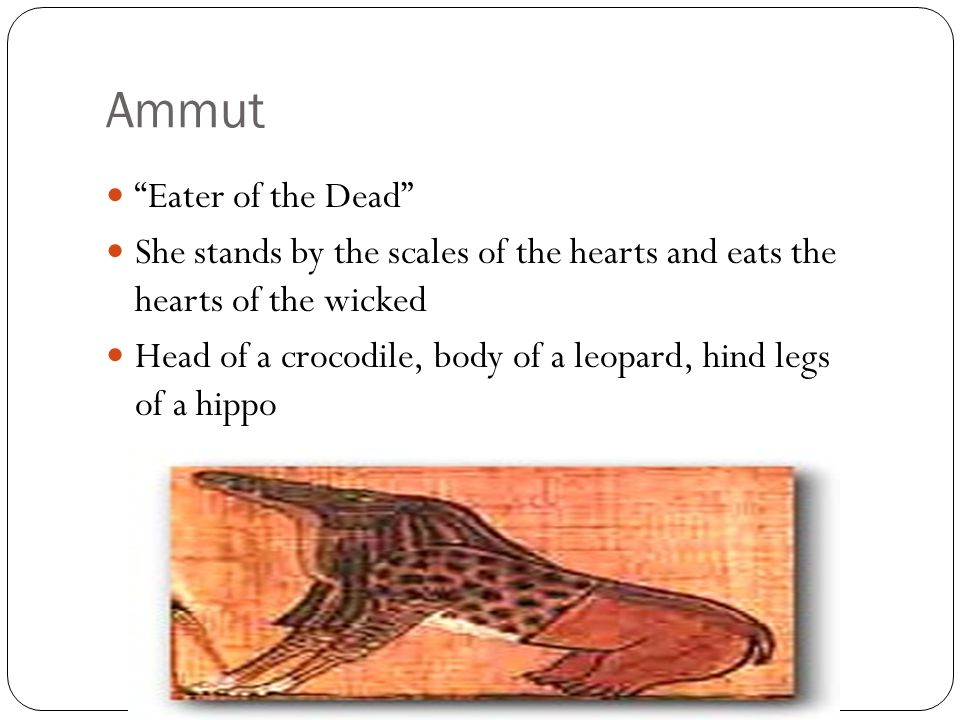 Ammut Eater of the Dead