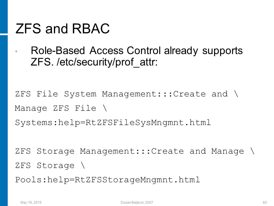 Zettabyte file system file system married to volume for Zfs pool design