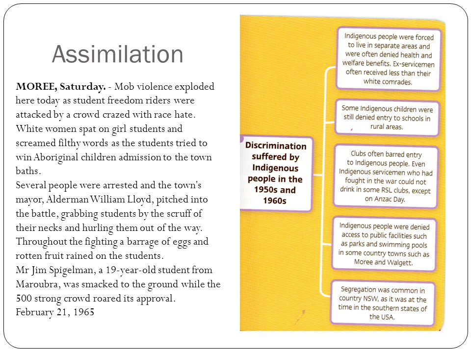What Is an Example of Cultural Assimilation?