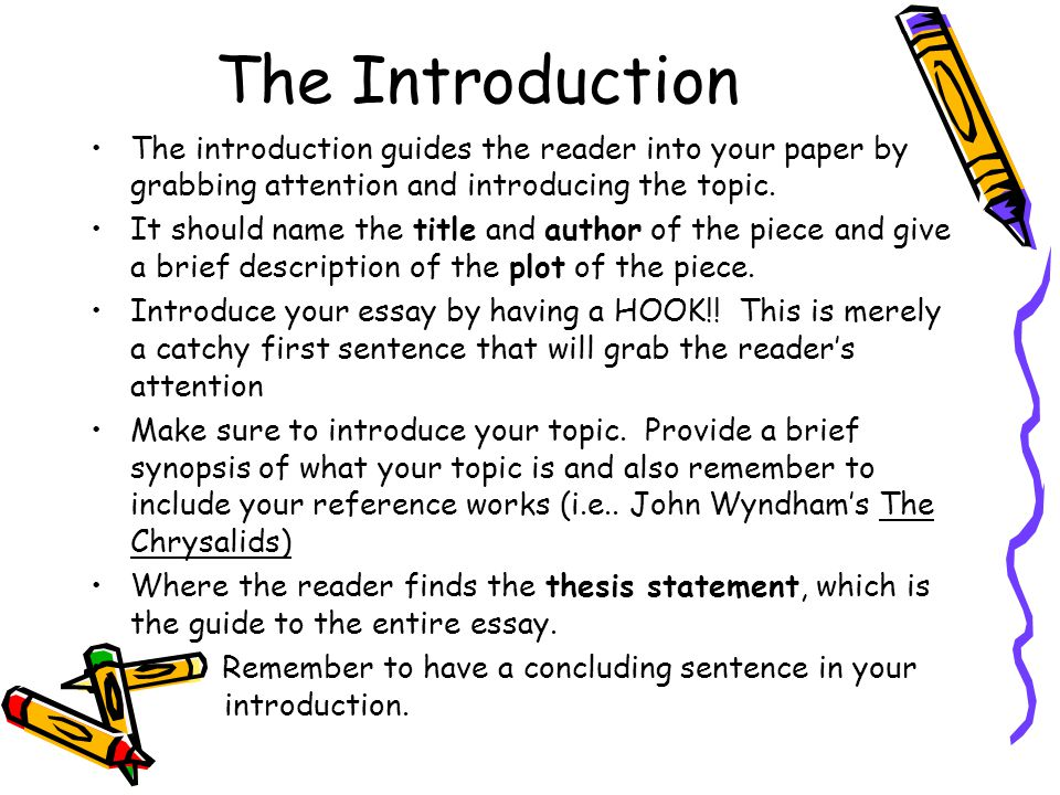 your handy dandy guide to organizing a proper 5 paragraph