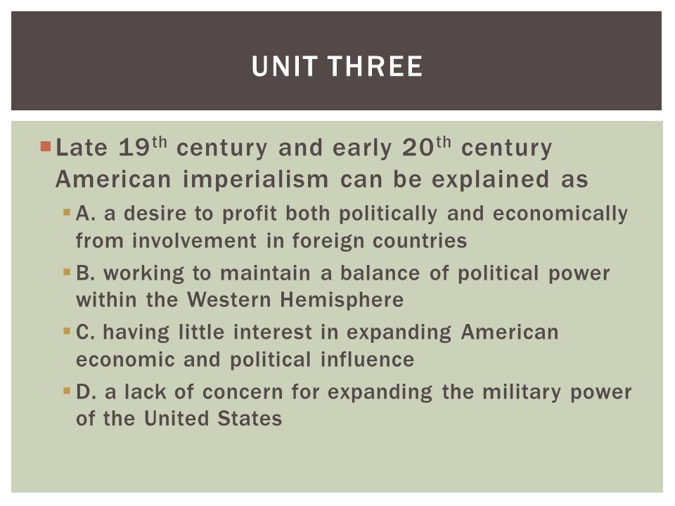 american imperialism 20th century essay The age of empire: american imperialism at the close  and shaped american foreign policy for the 20th century  century china apush dbq essay: imperialism.