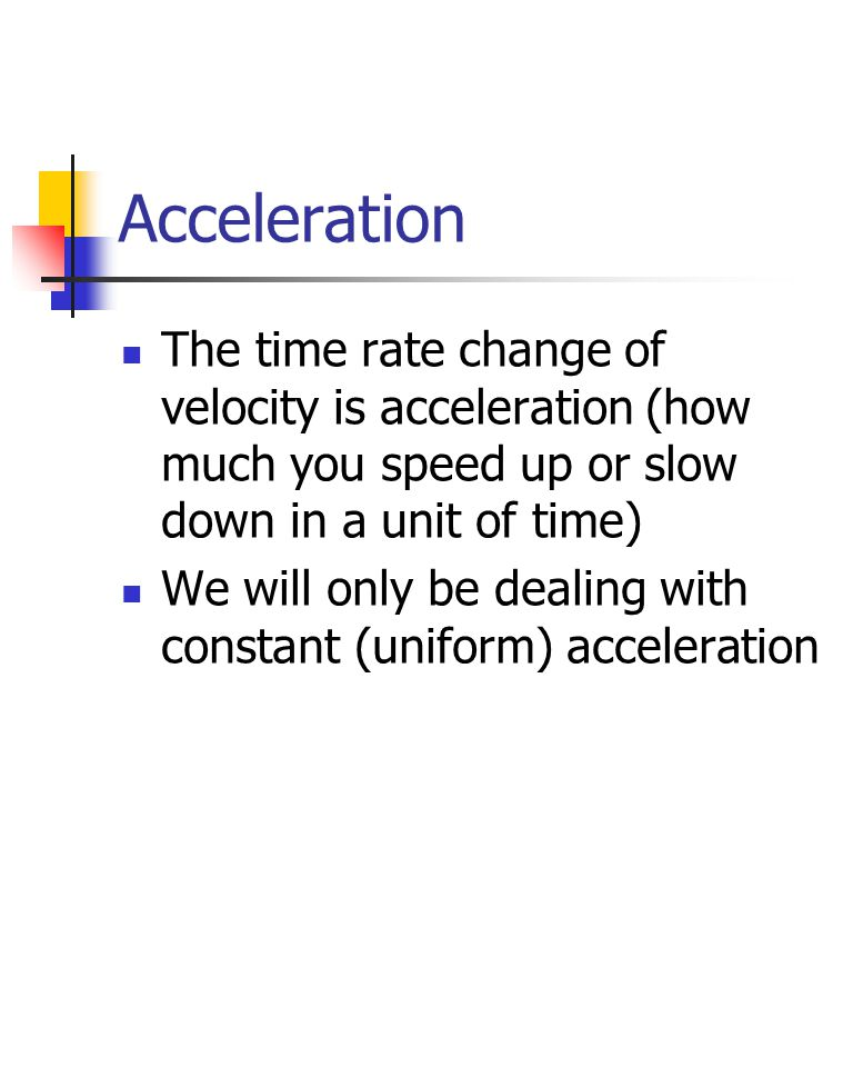 how to find acceleration with only velocity